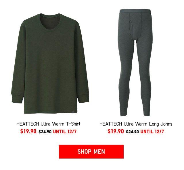 HEATTECH ULTRA WARM Only $19.90 - Shop Men