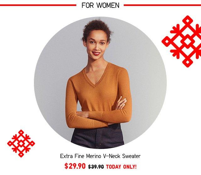 100% EXTRA FINE MERINO SWEATERS - Shop Women