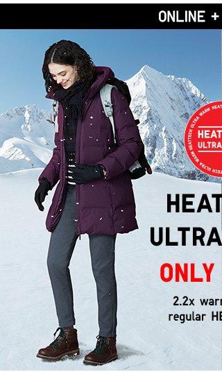 HEATTECH ULTRA WARM Only $19.90 - Shop Women