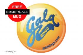 Free 40 Bingo From Gala Bingo & Free Emmerdale Mug