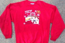 Free McDonald's Christmas Jumper
