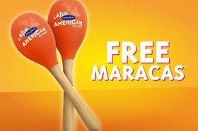 Free Pair of Maracas