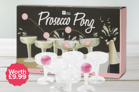 Free Prosecco Pong Game worth 9.99