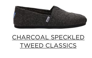 Charcoal Speckled Tweed Classics