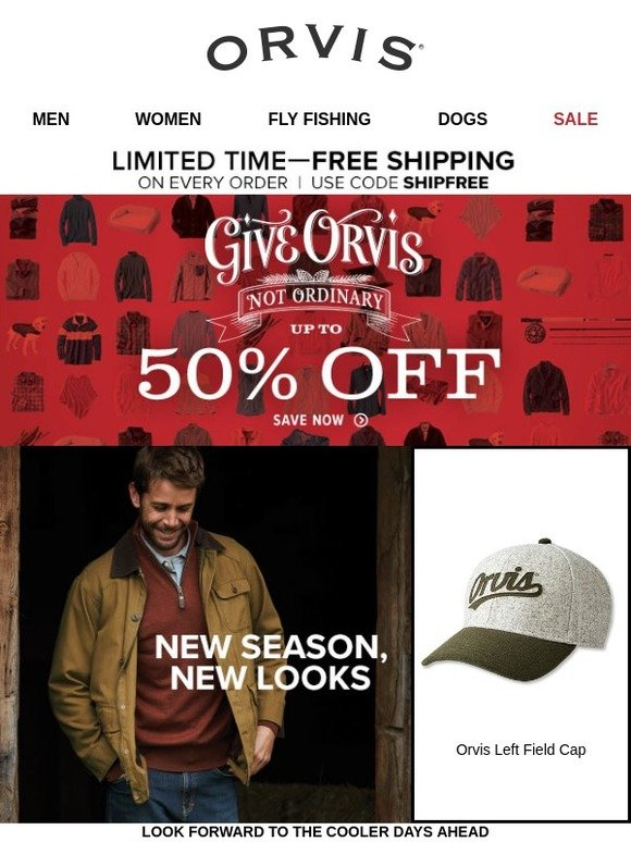 06ea48535 Orvis: Refresh your wardrobe for fall and beyond. | Milled