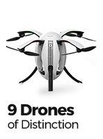 9 Drones of Distinction