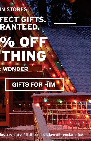 40% OFF EVERYTHING | GIFTS FOR HIM