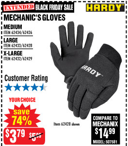 Mechanic's Gloves Medium