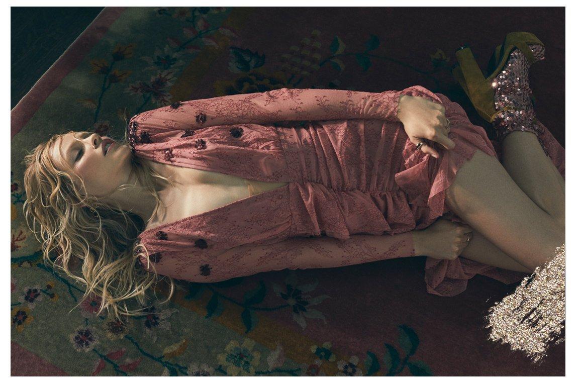Daisy Lace Midi Dress