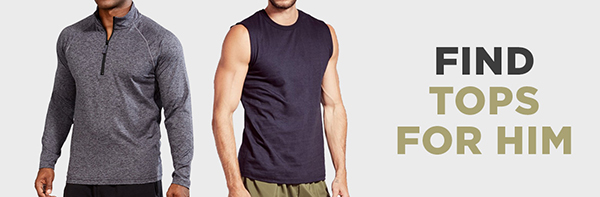 Shop tops for him