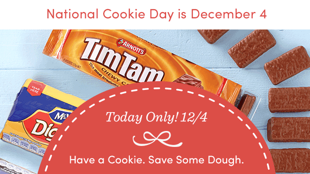 Today Only! Save 20% All Cookies