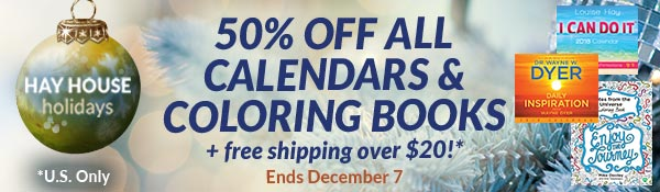 Hay House Inc 50 Off Calendars And Coloring Books Plus