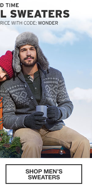 50% OFF ALL SWEATERS | SHOP MEN'S SWEATERS