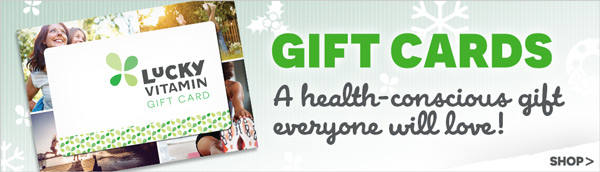 Gift Cards | A health-conscious gift everyone will love