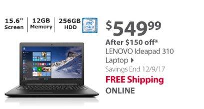 Lenovo 310 Laptop