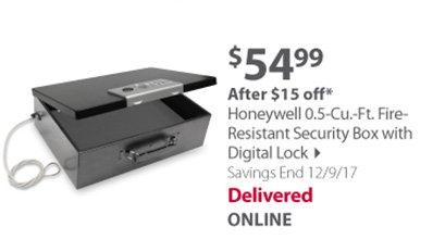 Honeywell Security Box