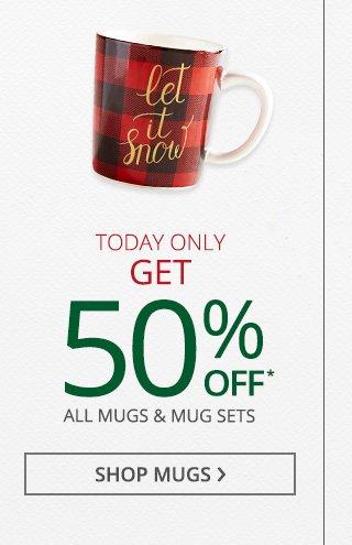 Shop mugs.