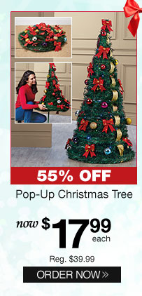 Pop-Up Christmas Tree