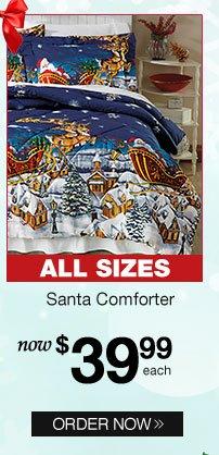 Santa Comforter