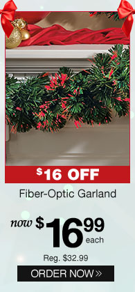Fiber-Optic Garland