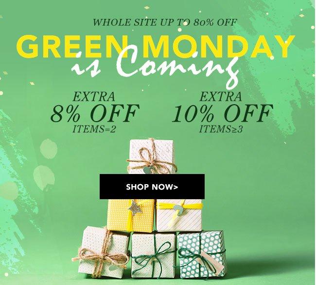 EricDress Green Monday