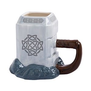 Marvel Thor Mjolnir Ceramic Sculpted Mug