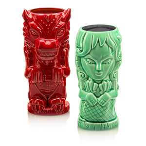 Mythical Creatures Geeki Tikis