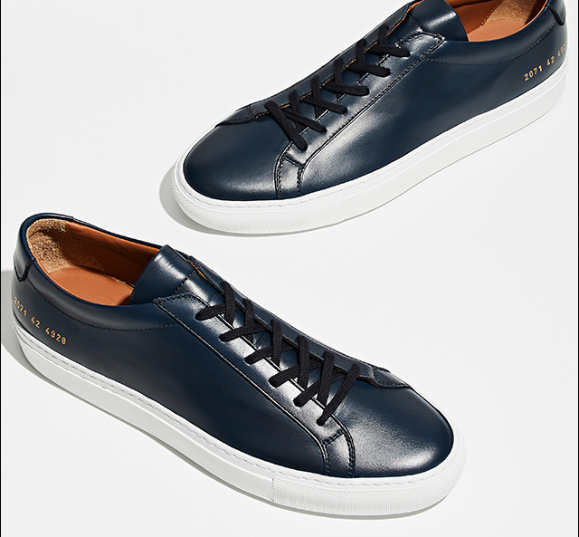 Bringing an artisanal touch to understated kicks.
