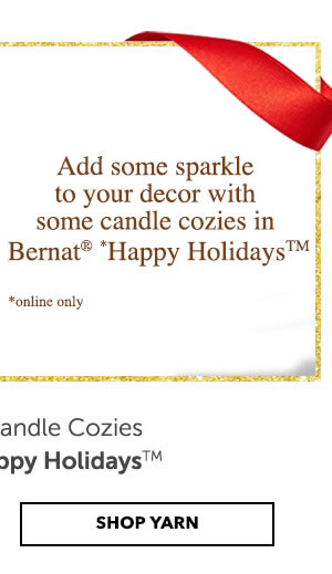 SHOP BERNAT HAPPY HOLIDAYS YARN.