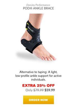 Extra 25% OFF - Donjoy Performance POD Ankle Brace