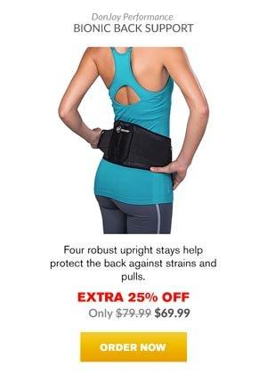 Extra 25% OFF - Donjoy Performance Bionic Back Brace