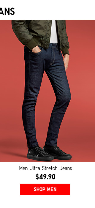 Ultra Light Stretch Jeans $49.90 - Shop Men