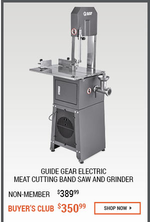 Guide Gear Electric Meat Cutting Band Saw and Grinder