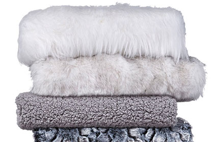 Entire Stock Plush Faux Fur.