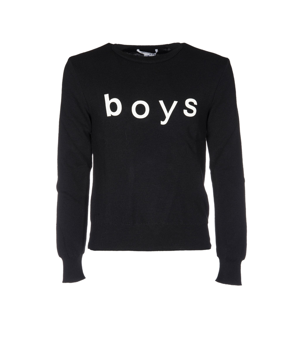 Boys Print Sweater