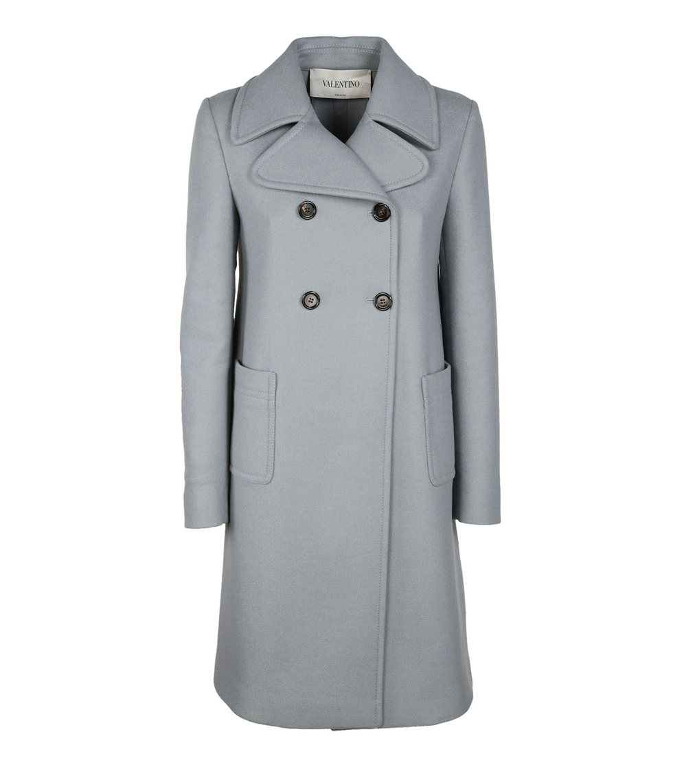 Valentino Classic Double Breasted Coat