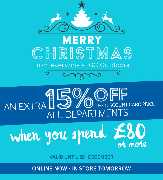 Merry Christmas - An Extra 15% Off All Departments