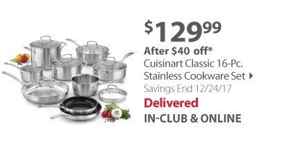 Cuisinart Classic Cookware Set