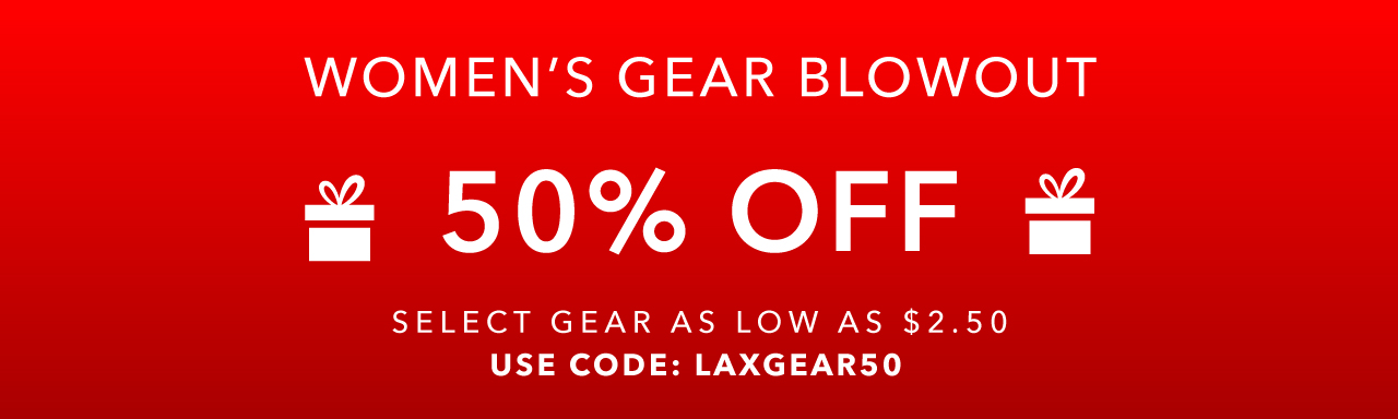 Take 50% Off Select Gear