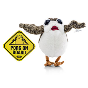 Star Wars: The Last Jedi Porg with Suction Cups