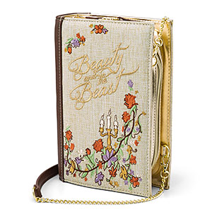 Beauty and the Beast Book Clutch