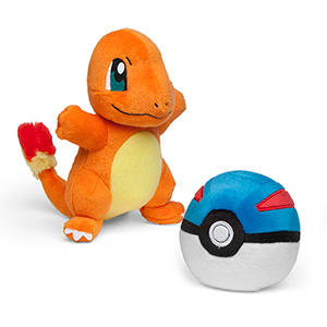Pokémon Charmander and Great Ball Plush - Exclusive Boxed Set