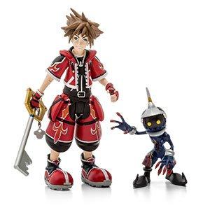 Kingdom Hearts Red Valor Sora Action Figure - Exclusive