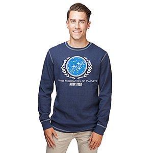 Star Trek United Federation Thermal Long Sleeve Shirt