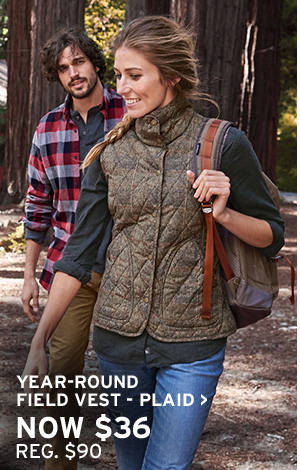 GIVE WARMTH | SHOP YEAR ROUND FIELD VEST