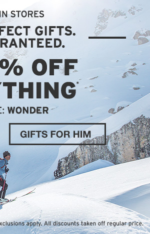 40-60% OFF EVERYTHING | GIFTS FOR HIM