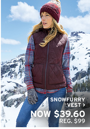 GIVE WARMTH | SHOP SNOWFURRY VEST