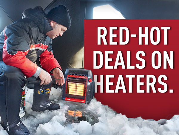 Red Hot Deals On Heaters.