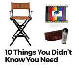 10 Things that Make Movie Making Easier
