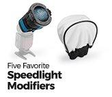 Our Five Favorite Speedlight Modifiers